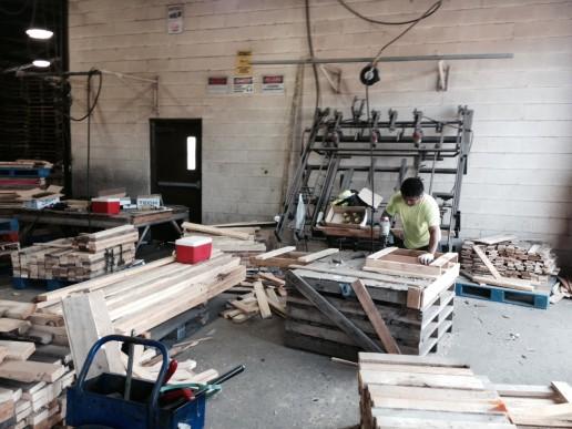 custom build pallets