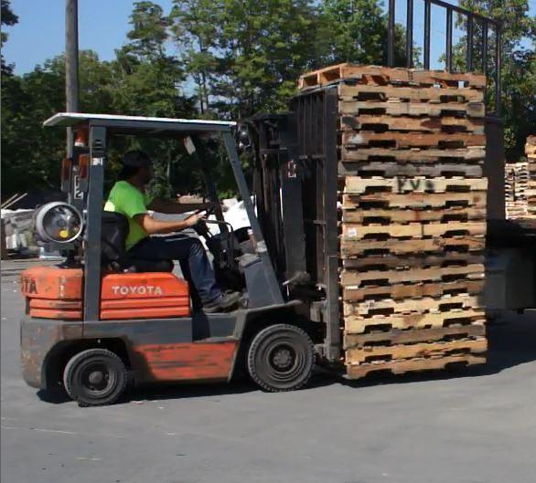 Forklift Operator Northampton Pa Nazareth Pallet Company