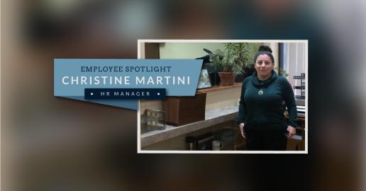 NP Employee Spotlight - Christine Martini