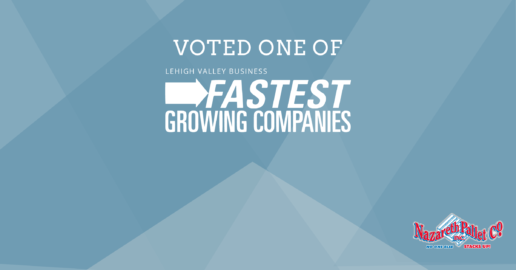 Nazareth Pallet Company named in LVB's Fastest Growing Companies list for 2016