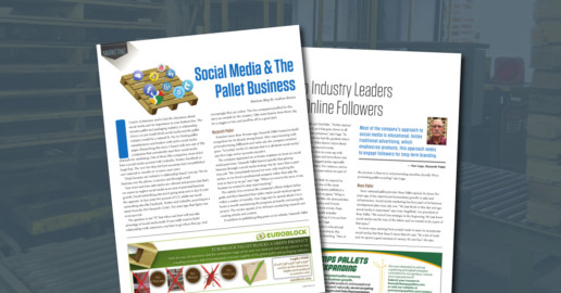 Social media secrets from Nazareth Pallet Company - as featured in Pallet Central